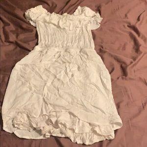 Express Dresses - Express xs white dress extra small rayon nice